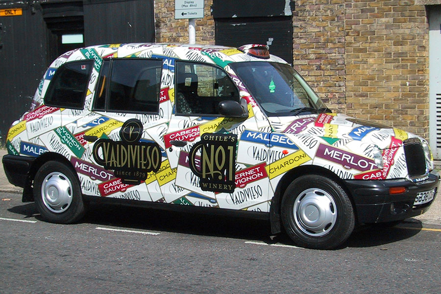 Taxi Wrap Guildford