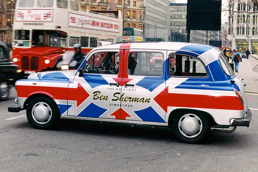 London Taxi Wrap